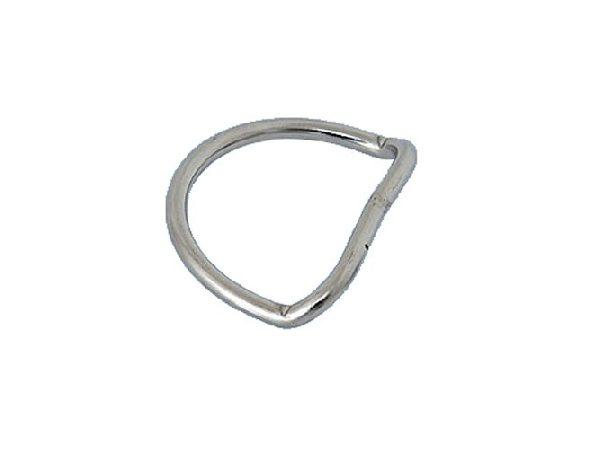 D-ring, bent 50 mm