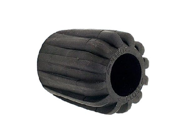Rubber knob